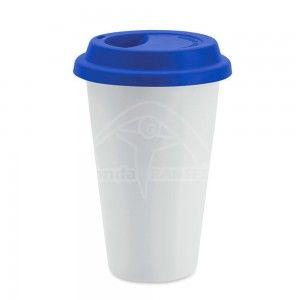 Mug Conico Tapa de Silicona
