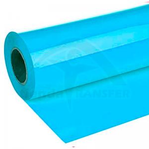 Vinilo Textil Azul Neón