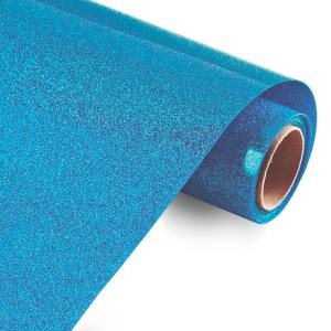 Vinilo Textil Azul Glitter