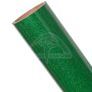 Vinilo Textil Verde Glitter