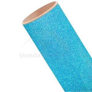 Vinilo Textil Azul Neón...