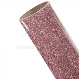 Vinilo Textil Rosado Glitter