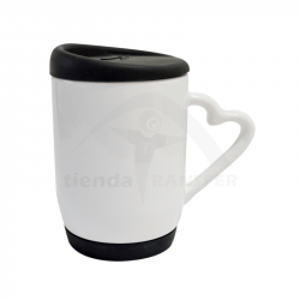 Mug Tapa y Base de Silicona
