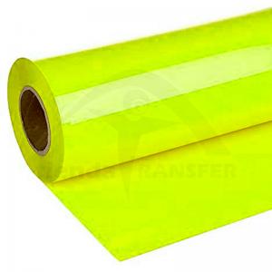 Vinilo Textil Amarillo Neón